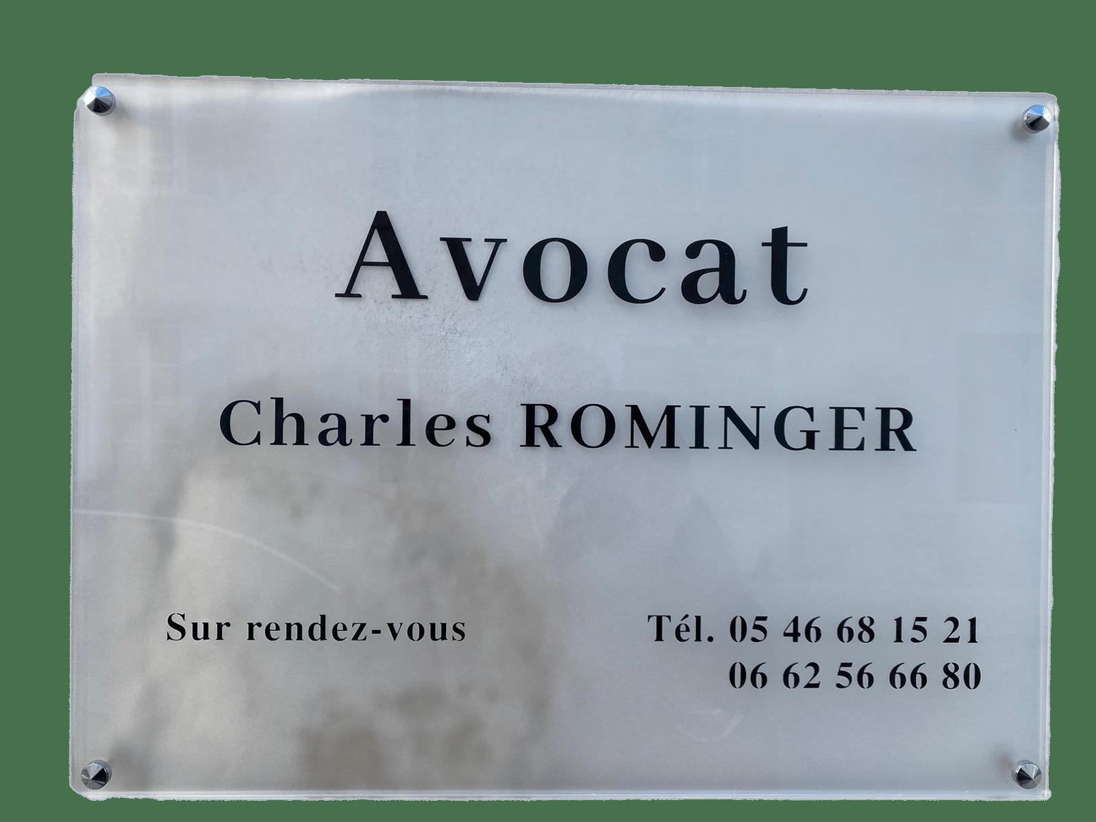 plaque-charles-rominger